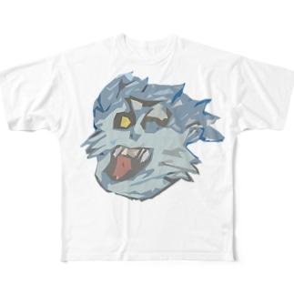 おおかみ男 Full graphic T-shirts