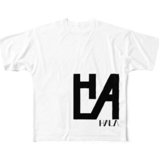 HALA Logo ver.1 Full graphic T-shirts