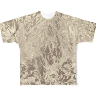 渦(uzu)/aimai color_#5 Full graphic T-shirts