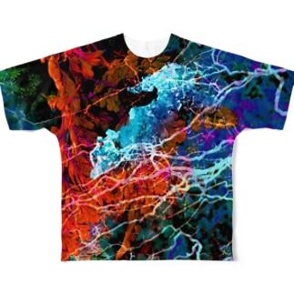 氷雪 Full graphic T-shirts
