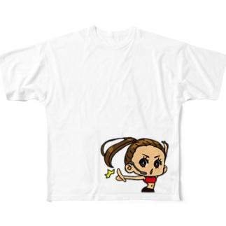 ビシ! Full graphic T-shirts
