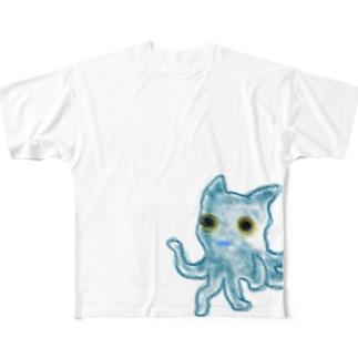 じゃしんさま Full graphic T-shirts