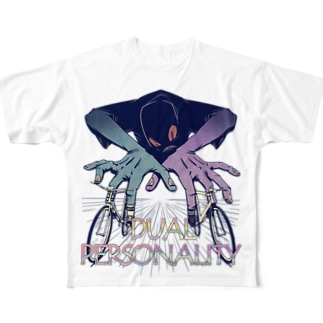 """""""DUAL PERSONALITY""""(clr) #1 Full Graphic T-Shirt"""