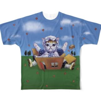 ドッカーン Full graphic T-shirts