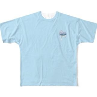 melting heart, summer - 03 Full graphic T-shirts