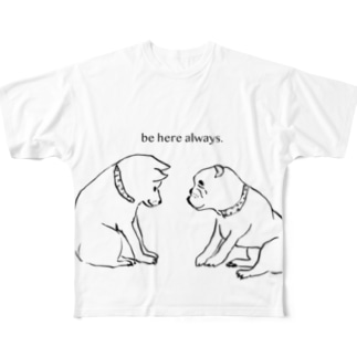 be here always. All-Over Print T-Shirt