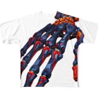 強化骨格4:Enhanced skeleton4 Full Graphic T-Shirt