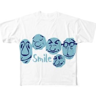 すまいる。 Full graphic T-shirts