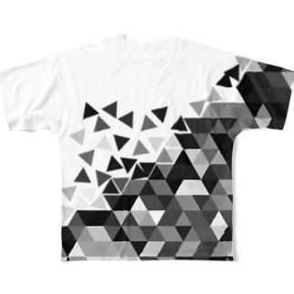 ▲ Full graphic T-shirts