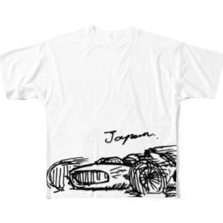 japan racing Full graphic T-shirts