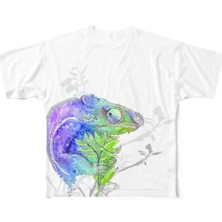 七変化 Full graphic T-shirts