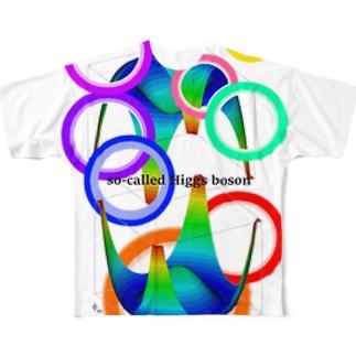 mattemaina のイケてる素粒子 Full graphic T-shirts