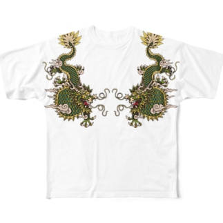 Ryu Full graphic T-shirts