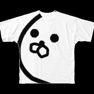 アザラシ専門店の霜降りアザラシTシャツ Full graphic T-shirts