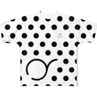 "オクソラ ケイタのOKUSORA dot T ""white"" Full graphic T-shirts"