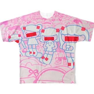 未来人in原宿 Full graphic T-shirts