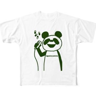 パンダ Full graphic T-shirts