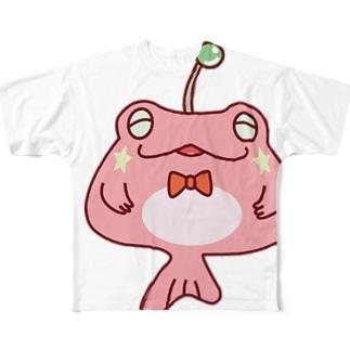 カエルアンコウ Full graphic T-shirts