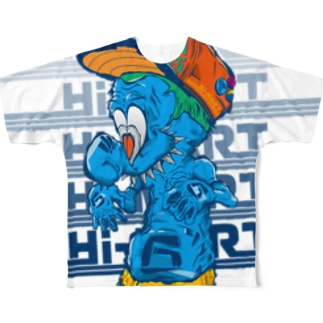 Hi-MART 666 MONSTER Full graphic T-shirts