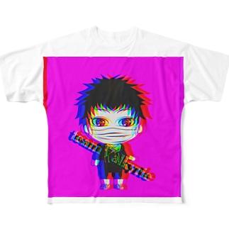 スモグッズ Full graphic T-shirts