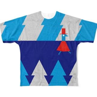 チャモロの森 Full graphic T-shirts