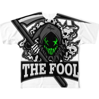 R6SクランThe_Foolグッズ Full graphic T-shirts
