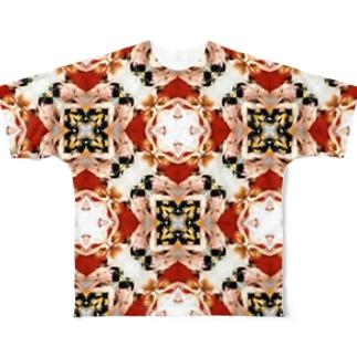 オカマの僕ら。ツボミの僕ら。オハナになった。 Full graphic T-shirts