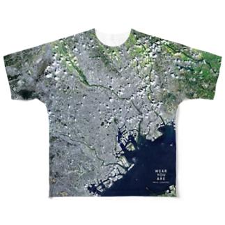 東京都 文京区 Tシャツ 片面 Full graphic T-shirts