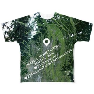 栃木県 宇都宮市 Tシャツ 両面 フルグラフィックTシャツ