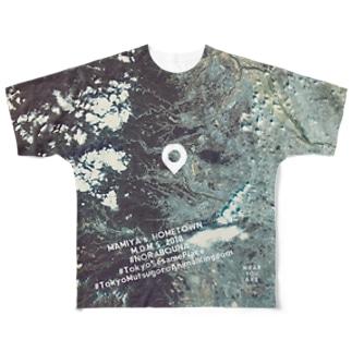 東京都 あきる野市 Tシャツ 両面 フルグラフィックTシャツ