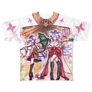 「舞庭」Series * KoMa♡戌年!!  フルグラフィックTシャツ