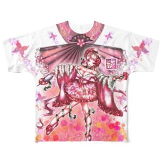 「舞庭」Series * Rose.Adagio.*❁ フルグラフィックTシャツ