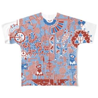 kobito フルグラフィックTシャツ