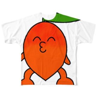 マンゴーくんTシャツ Full graphic T-shirts