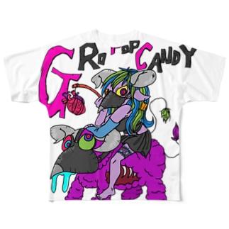 悪夢の住人 Full graphic T-shirts