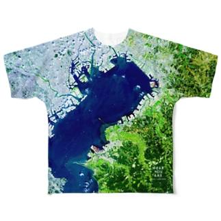 千葉県 木更津市 Tシャツ 片面 フルグラフィックTシャツ
