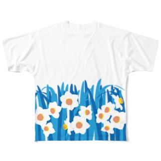 水仙 Full graphic T-shirts