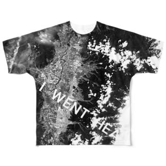 山形県 天童市 Tシャツ 両面 Full graphic T-shirts