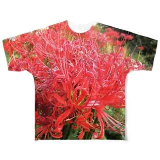 ヒガンバナ Full graphic T-shirts