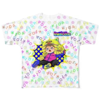 リーダー黄田 Full graphic T-shirts