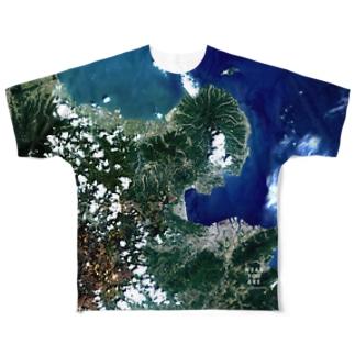 大分県 豊後高田市 Tシャツ 両面 Full graphic T-shirts