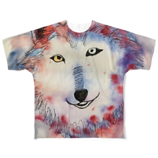 wolf Full graphic T-shirts