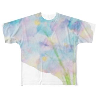 雨の日に着る Full graphic T-shirts