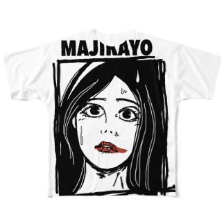 MAJIKAYO フルグラフィックTシャツ
