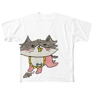 ミッシェルベイビー Full graphic T-shirts