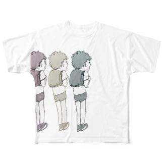 みつごみつごみつご? Full graphic T-shirts