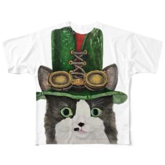 スチームパンクなミッシェル Full graphic T-shirts