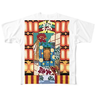 錦天満宮‐nishiki‐ Full graphic T-shirts