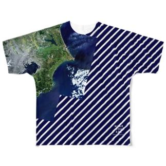 日本 Tシャツ 片面 フルグラフィックTシャツ