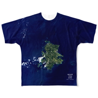 長崎県 壱岐市 Tシャツ 両面 Full graphic T-shirts